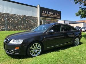 2010 Audi A6 S-LINE. V6-3.0L.QUATTRO.REAR VIEW CAMERA.BLUETOOTH
