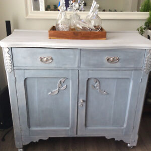 Gorgeous Weathered Solid Wood Buffet