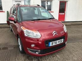 2012 61 CITROEN C3 PICASSO 1.6 PICASSO EXCLUSIVE HDI 5D 90 BHP DIESEL