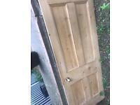 Free Original Solid Wood Door