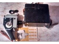 Working Quarz-5 Cine Camera With Case And Accessories