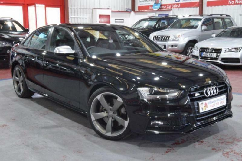 2013 13 AUDI A4 3.0 S4 QUATTRO BLACK EDITION 4D AUTO 329 BHP