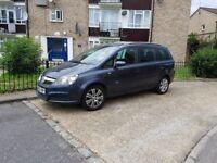 Vauxhall zafira 1.6 LOW MILEAGE 7 seat