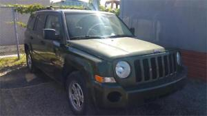 2009 Jeep Patriot 4X4 NORTH BAS KM GARANTIE 1 ANS GRATUITE