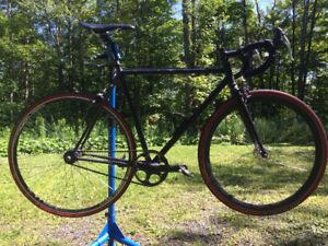 Vélo fixie / singlespeed en acier - Steel Fixie/Singlespeed Bike