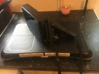 Wii and wii fit board with games