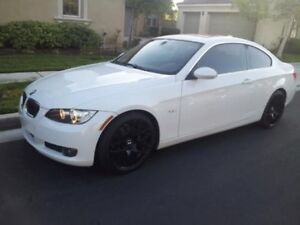 2008 BMW 3-Series 328XI White Coupe