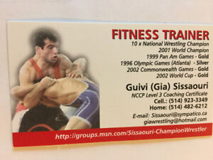 Personal Trainer - Wrestling coach - Level 3 NCCP Certificate
