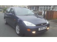 2001 FORD FOCUS 1.8 ZETEC PETROL VERY CLEAN PART EXCHANGE WELCOME ASTRA CHEAP CAR BARGAIN