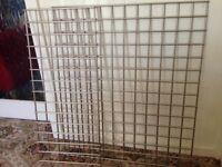 2 x metal hanging pan racks / kitchen storage