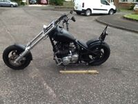 Hard tail chop for sale full service long mot new tyres new chain real head turner