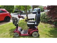 Mobility Scooter (Admiral) in burgundy. Very good condition. Just £250.