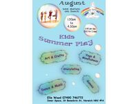 Kids Summer Play Events