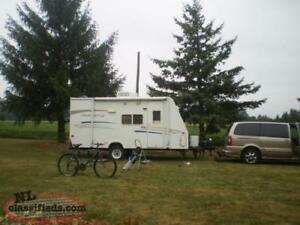 18 FT Hybrid Camper Excellent Condition - 3500lb GVWR - SUV/MinV