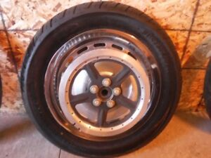 16' RIM WITH BELT DRIVE AND ROTOR + NEW RUBBER