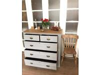 EDWARDIAN CHEST OF DRAWERS FREE DELIVERY LDN🇬🇧SHABBY chic