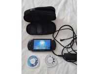 Sony PSP in Black with extras