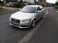 2009 Audi A3 S Line Sportback 1.8T TFSI mint condition, FSH, S line half leather 5 door family car