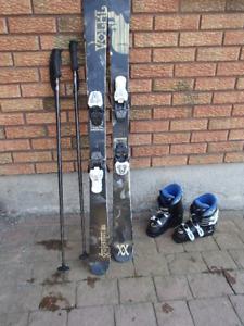 Children's Ski/Boot Set for sale