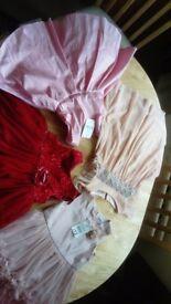 Pretty girls party dresses