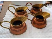 Brass jugs