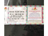 V Festival tickets!