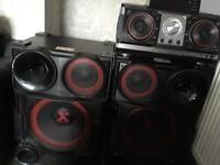 LG X-Boom CM9730 sound system
