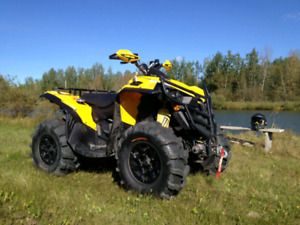 Looking to trade can am renegade 1000 for a Harley Davidson.