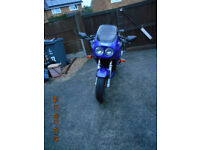 Triumph Sprint 900 1995 m reg good condition with mot & part service history.