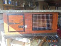 Recently made rabbit/guinea pig hutch