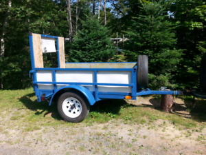 Two Great utility trailers for sale or trade