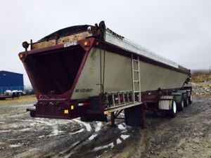 2001 ABS 4 Axle RC448 Live Bottom Trailer