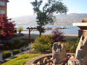 Executive lake front condo in West Kelowna -