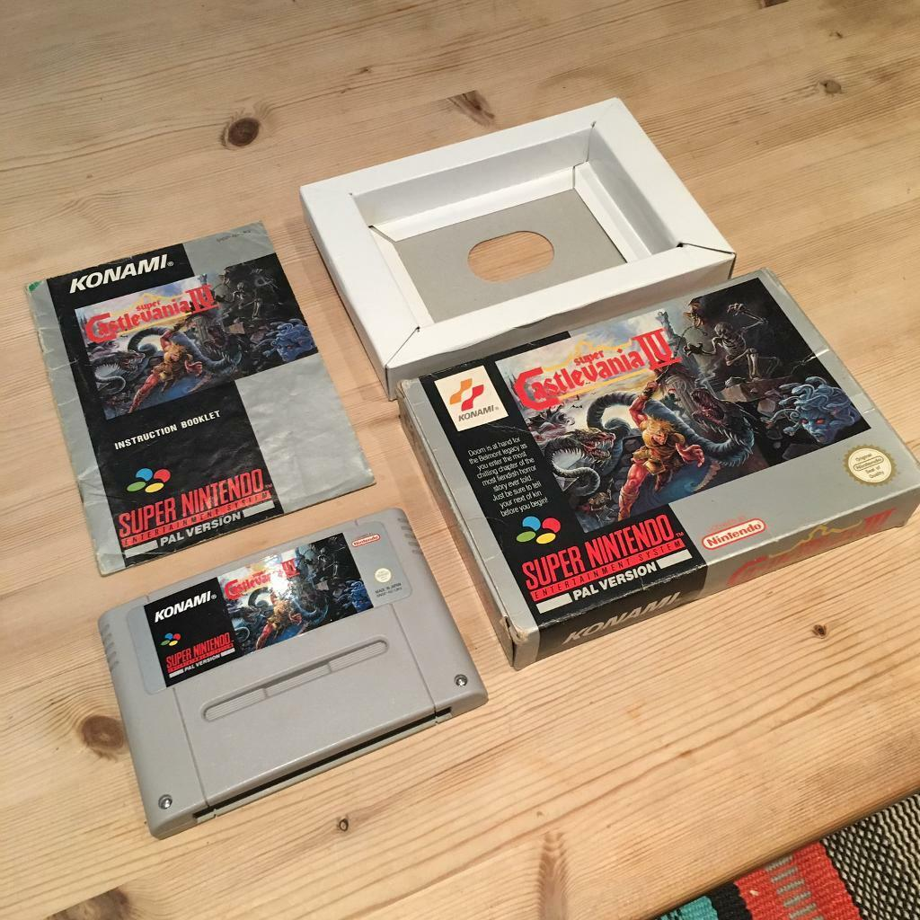 Super Castlevania IV 4 - Super Nintendo SNES Boxed