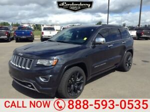 2014 Jeep Grand Cherokee 4WD OVERLAND Diesel,  Navigation (GPS),