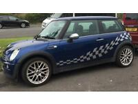 2003 Blue Mini Cooper One For Sale