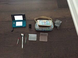 Nintendo 3DS with accessories
