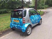 2003 Smart City Coupe 1,0 litre 3dr semi-automatic