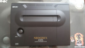 Neo Geo X Gold Limited Edition (Asian Version) IMMACULATE CONDITION! + Ninja Master's