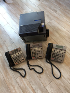 OFFICE PHONE - 3 STATION SYSTEM
