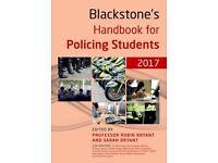 Blackstones police book.