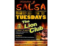 Tuesday Night Salsa Classes Erdington