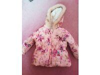 Baby girl 6-9 months coat
