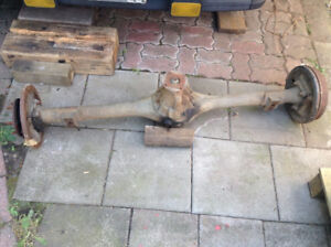 1990 Mazda B2200 Rear end - Axles and Diff unit whole