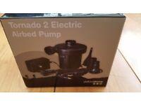 Brand new Tornado 2 electric airbed pump