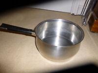 5 litre stainless steel Prestige saucepan