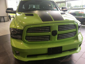 2017 Dodge Ram 1500 sublime special edition green