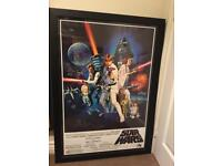 Autographed Poster David Prowse as Darth Vader