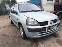 RENAULT CLIO AUTHENTIQUE SILVER PETROL 1.2 65BHP NATIONWIDE DELIVERY ***BARGAIN***