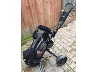 Wilson Golf Bag & Hippo Trolley